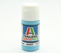 Italeri丙烯酸涂料 - 光泽浅蓝