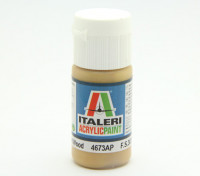 Italeri丙烯酸涂料 - 扁平材