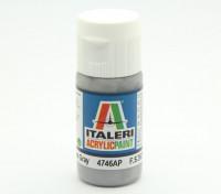 Italeri丙烯酸涂料 - 平中灰色