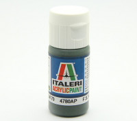 Italeri丙烯酸涂料 -  Schwarzgrun RLM 70
