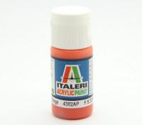 Italeri丙烯酸涂料 - 平橙色