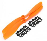Turnigy Slowfly螺旋桨8x4.5橙色(CCW)(2个)
