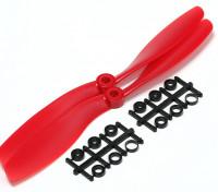 Turnigy Slowfly螺旋桨8x4.5红(CCW)(2个)