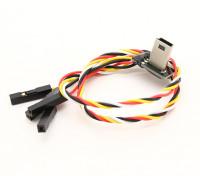默比乌斯USB转AV OUT FPV线兼容充电