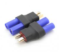 T-Connector来EC5电池适配器(2件/袋)
