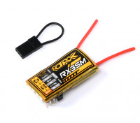 OrangeRX MicroRX3S 3轴飞行稳定DSMX / DSM2支持4路的2.4GHz接收W /雷姆增益控制