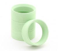 扫SMI-H微型轮胎模具插入绿色 - 硬盘(4块)