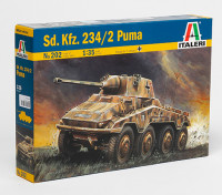Italeri 1/35规模SD.KFZ。二分之二百三十四彪马Pastic模型套件