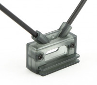 HobbyKing接收天线安装双45deg与直接或夹的安装