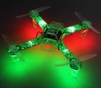 HobbyKing FPV250 V4绿色版鬼LED小夜灯传单FPV四轴飞行器(绿色)(套装)