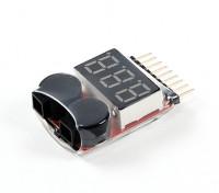 HobbyKing™前列电压检测器(2S〜8S)