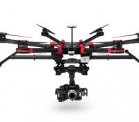DJI S900展翅W / Zenmuse Z15-GH4万向节和A2飞行控制系统组合