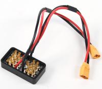 对于多直升机装有40〜60A容量大电流/高电压配电板
