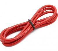 Turnigy高品质10AWG硅胶线1M线(由红)