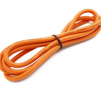 Turnigy高品质12AWG硅胶线1M线(由橙色)