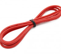 Turnigy高品质16AWG硅胶线1M线(由红)