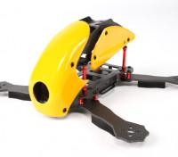 HobbyKing™RoboCat270毫米真正的赛车的碳四(黄色)