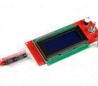 3D打印机的RepRap智能控制器(坡道LCD控制旋钮带)