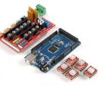 3D打印控制板套件2560 R3主控加坡道1.4 plus4988驱动器(带散热片)