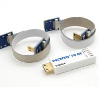 RCD 3016 HDMI转AV端口转换器
