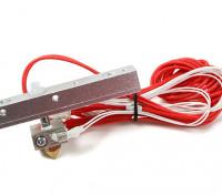天威DIY 3D打印机 - 喷嘴与引线