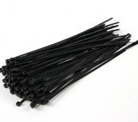 扎带200毫米x 4mm的黑色(100个)