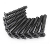 金属平头六角螺丝M2.5x22-10个/套