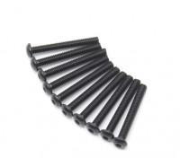 金属圆头机六角螺丝M2.5x20-10个/套