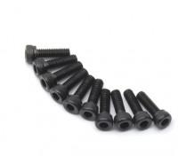 金属六角机六角螺丝M2.5x8-10个/套