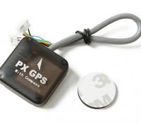 与罗盘Pixhawk / PX4 UBLOX 7系列纳米PX GPS