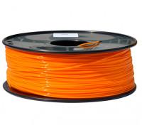HobbyKing 3D打印机长丝1.75毫米解放军1KG阀芯(橙色)