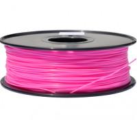 HobbyKing 3D打印机长丝1.75毫米解放军1KG阀芯(粉色)