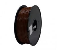 HobbyKing 3D打印机长丝1.75毫米解放军1KG阀芯(棕色)