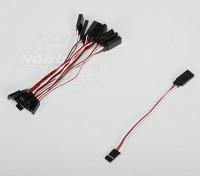 10CM伺服铅(双叶)32AWG超轻(10件/套)