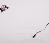 扭曲的15厘米伺服铅延伸(双叶)22AWG(5件/套)