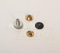 BMS-20611金属齿轮的BMS-660MG + HS与BMS-660DMG + HS