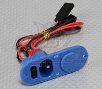 重型RX开关,充电口及燃料蓝点