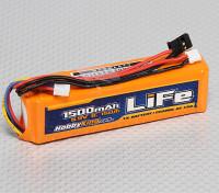 HobbyKing 1500mAH的了LiFe 3S 9.9V发射机包。