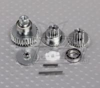 HobbyKing™弥更换齿轮组(HK47010DMG HK47110DMG HK47002DMG)
