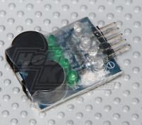 HobbyKing™Lipoly低电压报警(2秒〜4秒)