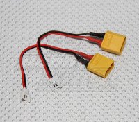 XT60到微Losi充电适配器(2件/袋)