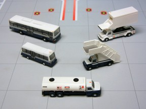 Gemini Jets Airport Service Vehicles 5 piece set 1:200 G2APS450