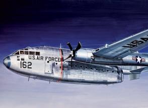 Italeri 1/72规模的C-119飞行棚车塑料模型套件