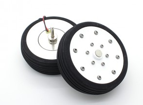 """博士MadThrust 3.25""""/81.5毫米主轮与电磁制动系统(2PC)"""