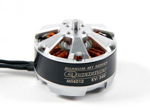Quanum MT系列4012 340KV无刷电机多转子通过内置DYS