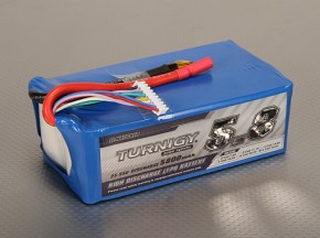 Turnigy 5800mAh的8S 25C前列包