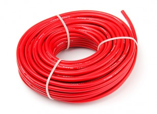 Turnigy High Quality 10AWG Silicone Wire 20m (Red)