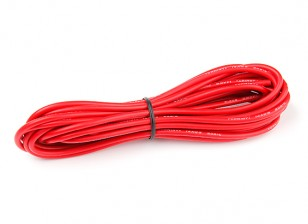 Turnigy High Quality 14AWG Silicone Wire 5m (Red)