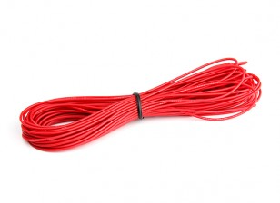 Turnigy High Quality 26AWG Silicone Wire 10m (Red)