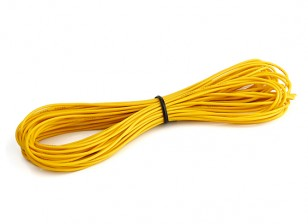 Turnigy High Quality 26AWG Silicone Wire 10m (Yellow)